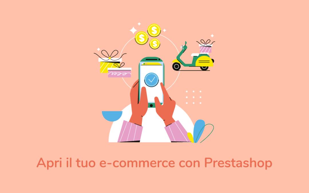 E-commerce Prestashop: ecco da dove iniziare
