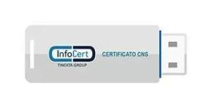 business key infocert cns Firma digitale