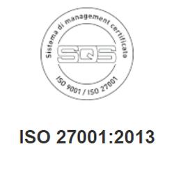 iso 27001 2013 CRM piattaforma sicura