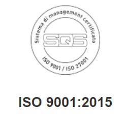 iso 9001 2015 CRM piattaforma sicura