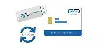 rinnovo infocert cns Rinnovo Certificato CNS InfoCert